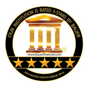 5 Stars from Bauer Financial